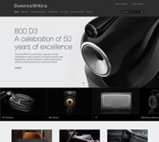Bowers & Wilkins website history