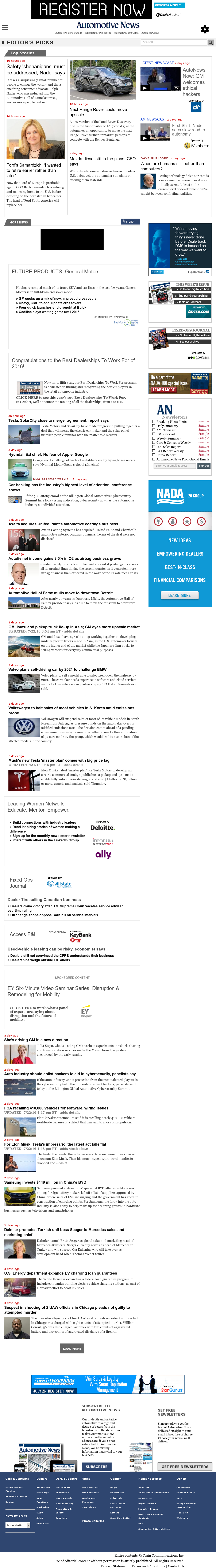 Automotive News Competitors Revenue And Employees Owler Company