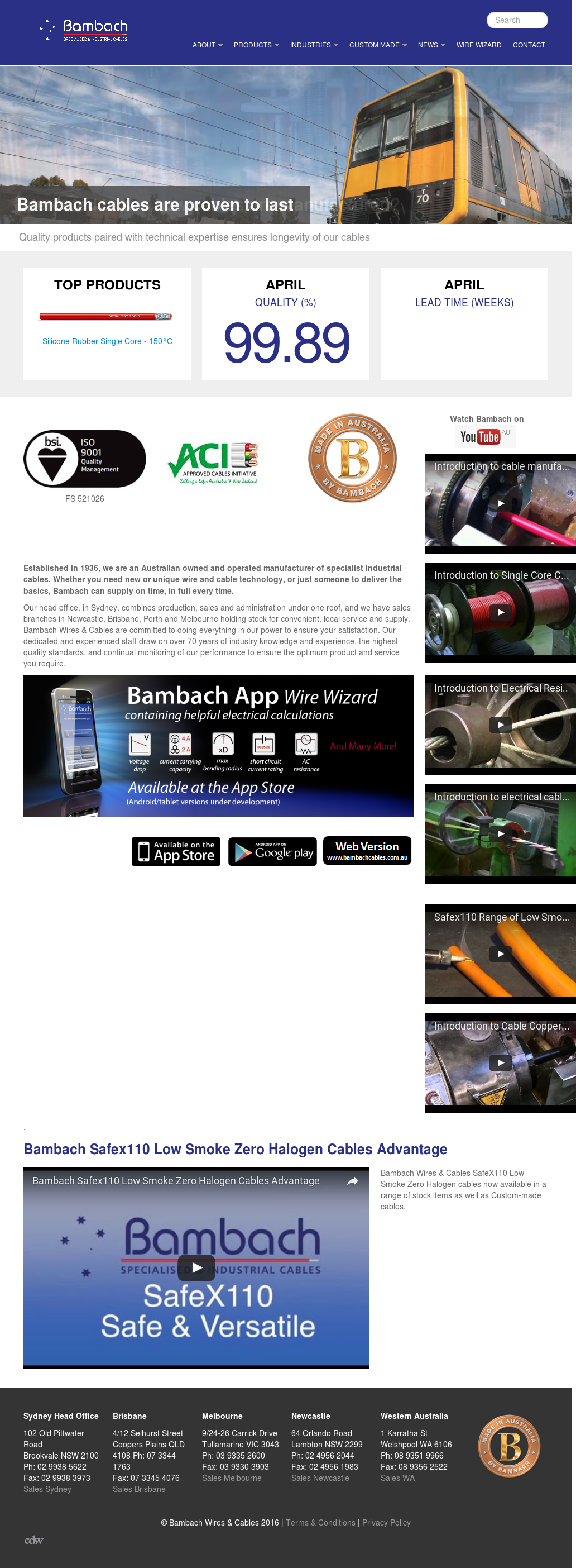 Bambachcables Competitors, Revenue and Employees - Owler Company Profile