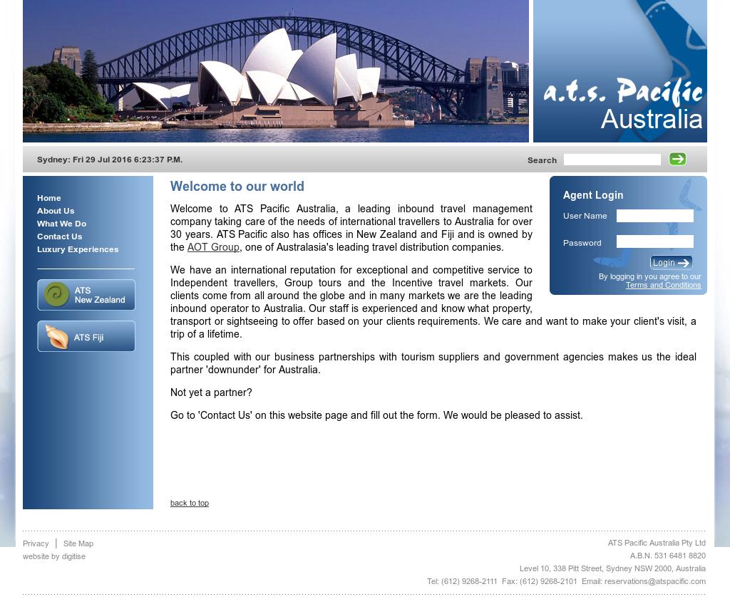 Website Ats Tour And Travel