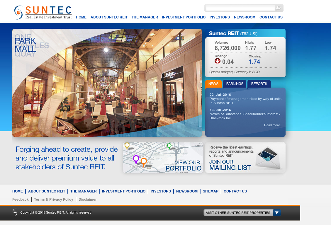 Suntec reit competitors revenue and employees owler company profile malvernweather Gallery
