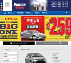 Cramer Toyota Of Venice Website History