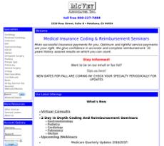 Mcvey Associates website history