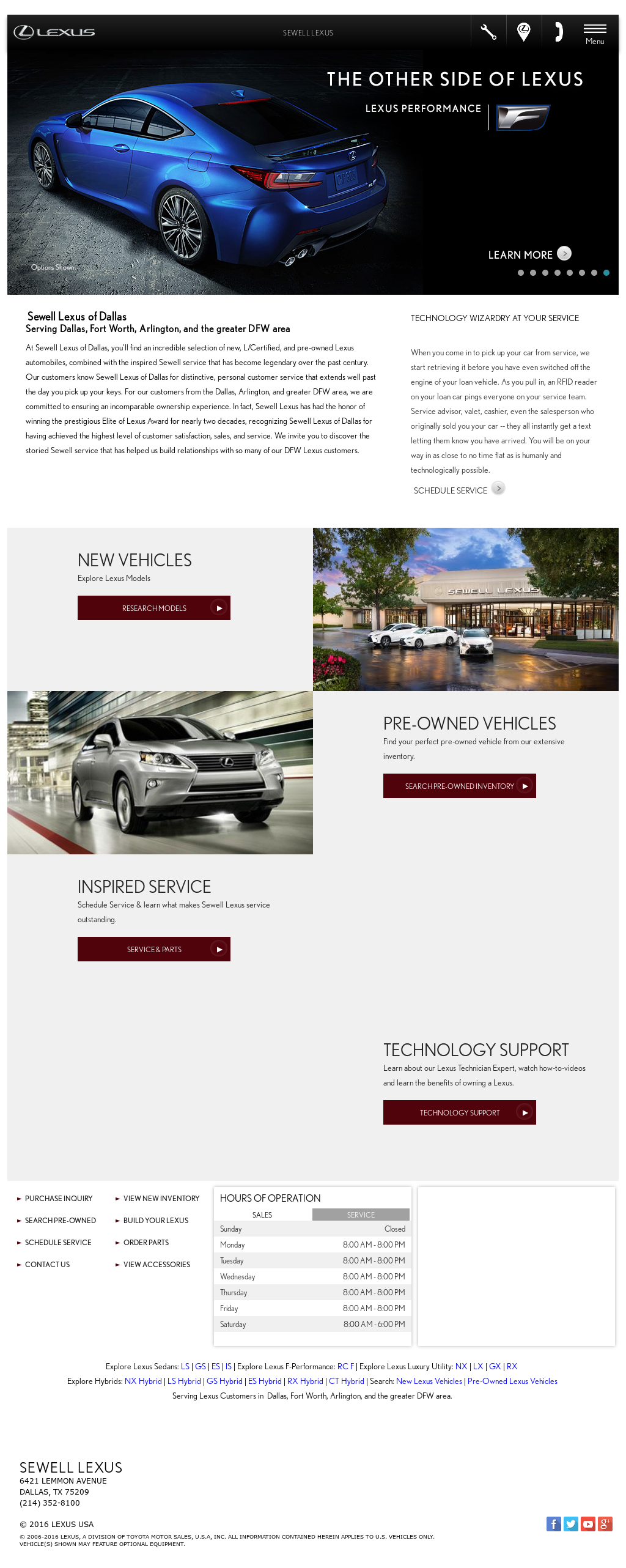 Sewell Lexus Dallas petitors Revenue and Employees Owler