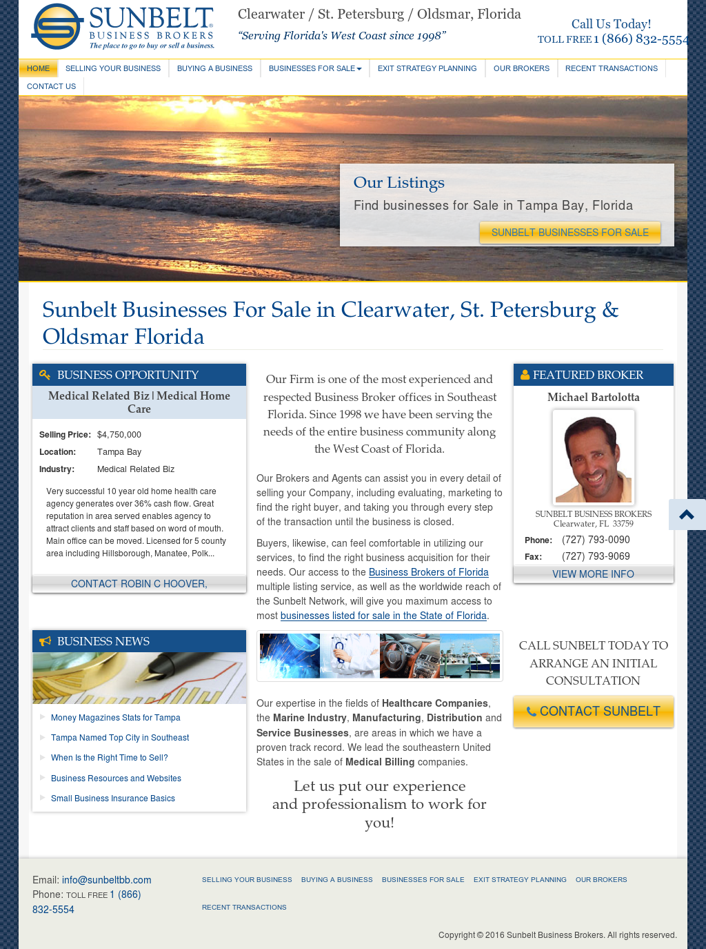 sunbelt business brokers competitors revenue and employees owler company profile