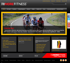 TriMore Fitness website history