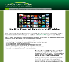 TouchPoint Video website history