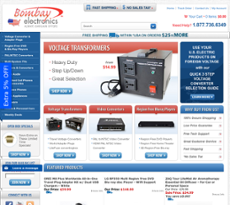 Bombay Electronics website history