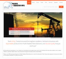 Pacific Radiator website history