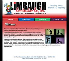Limbaugh Construction website history