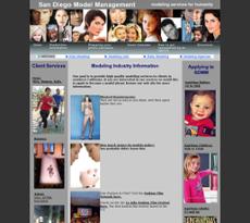 San Diego Model Management website history