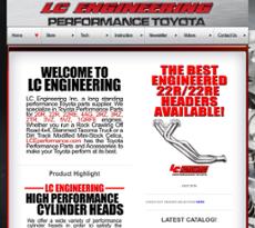 LC Engineering website history