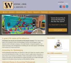 Steven J Wick & Associates website history