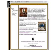 Frosolone Interiors website history