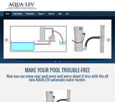 Aqua Lev website history