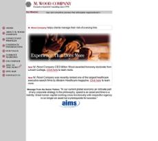 M. Wood website history
