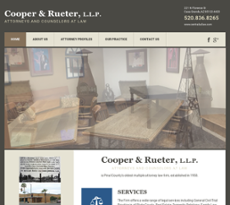 Cooper & Rueter website history