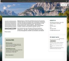 Magnacorp website history