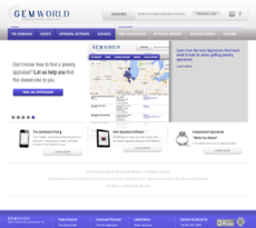 Gemworld International website history
