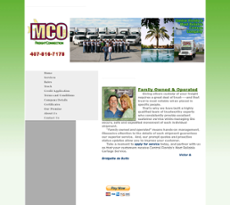 MCO Freight Connection website history