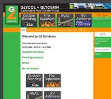 G2 Solutions website history