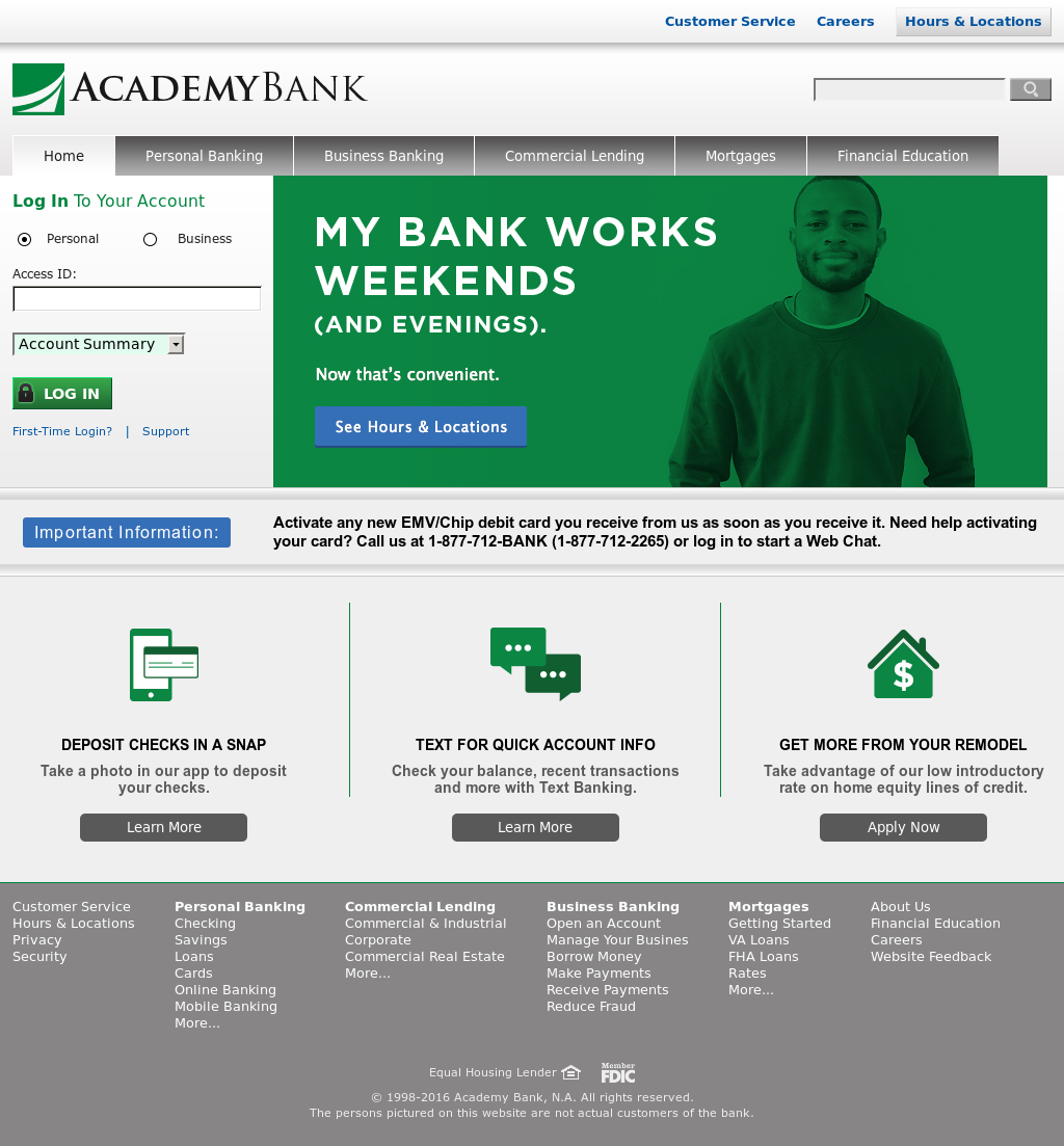 Academy Bank Springfield Mo >> Academy Bank Competitors Revenue And Employees Owler