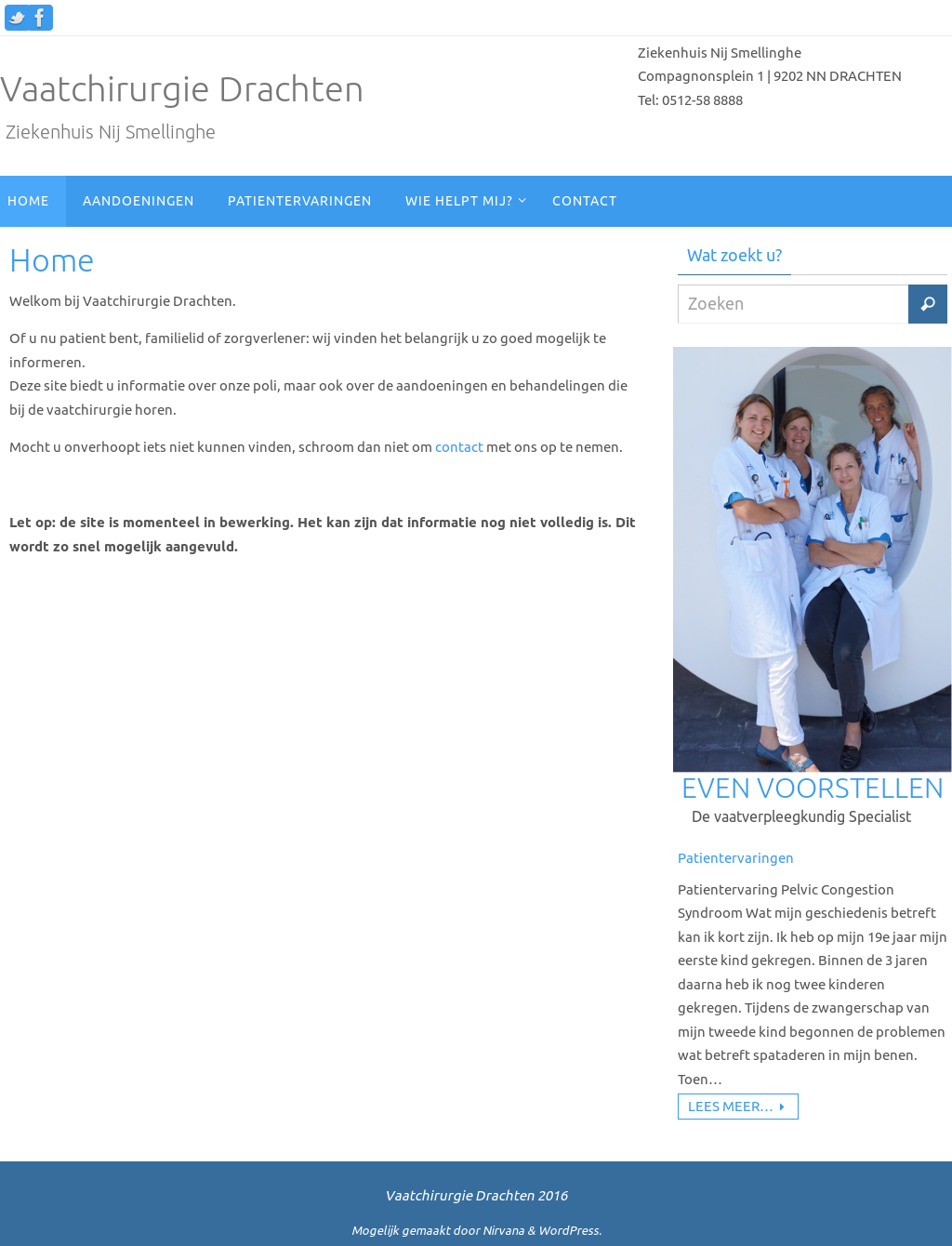 vaatchirurgie richtlijnen