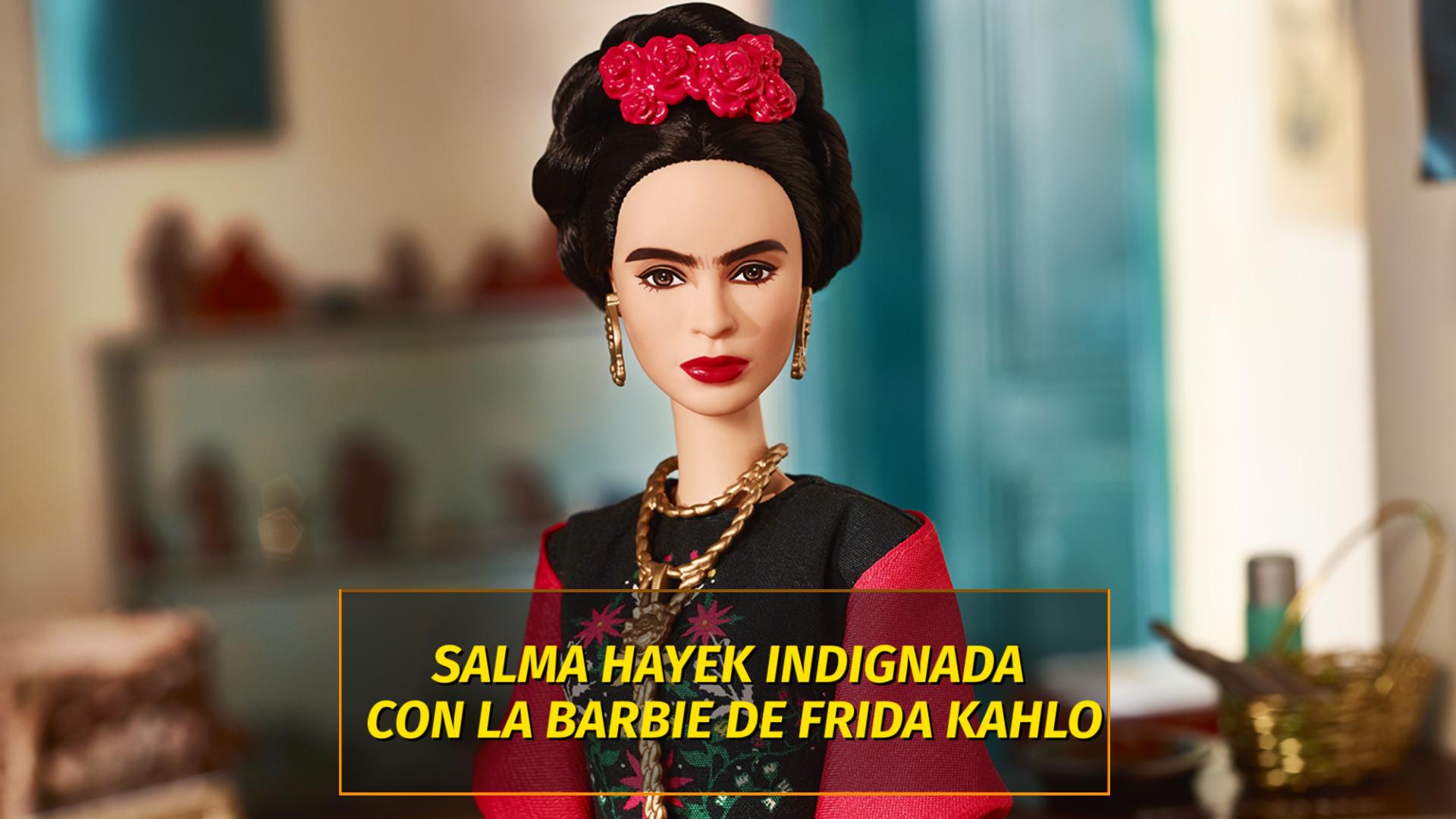 Salma Hayek criticó la nueva Barbie de Frida Kahlo - Infobae