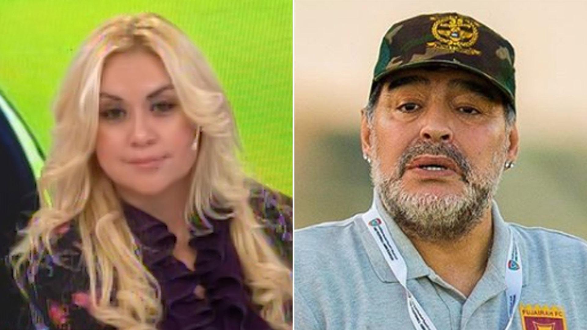 Resultado de imagen para Diego Maradona demandará a Verónica Ojeda después de que ella hablara de la salud de su hijo y de su rol como padre
