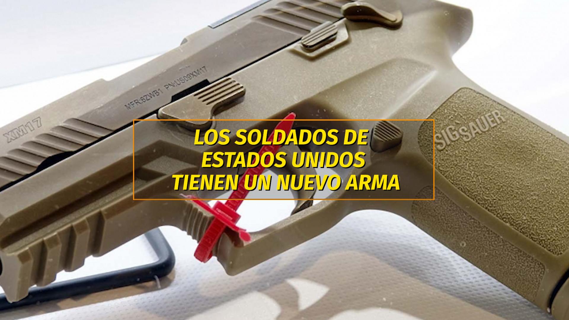 Así es la nueva pistola que usarán los soldados del ejército de los ...