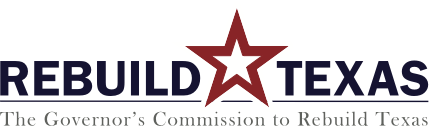 Rebuild Texas logo