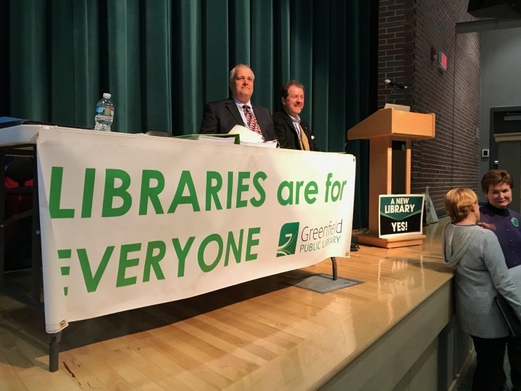 LIVEBLOGGING: Public meeting on the new library