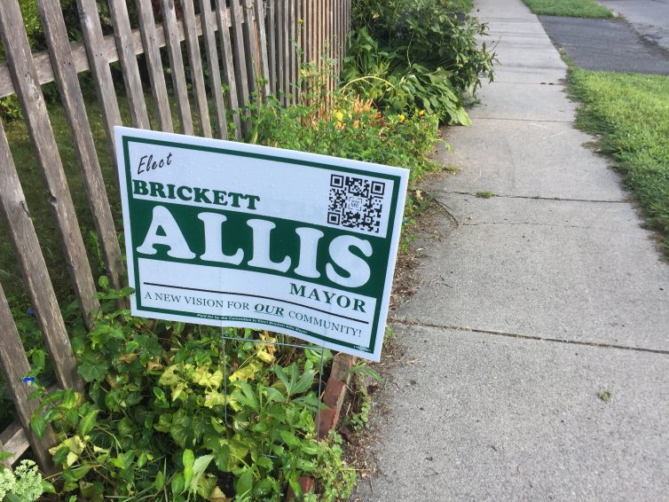 "The Greenfield Leek: Campaign Signs Cause a Stir Among ""Our"" Community; QR Code Holds Key"