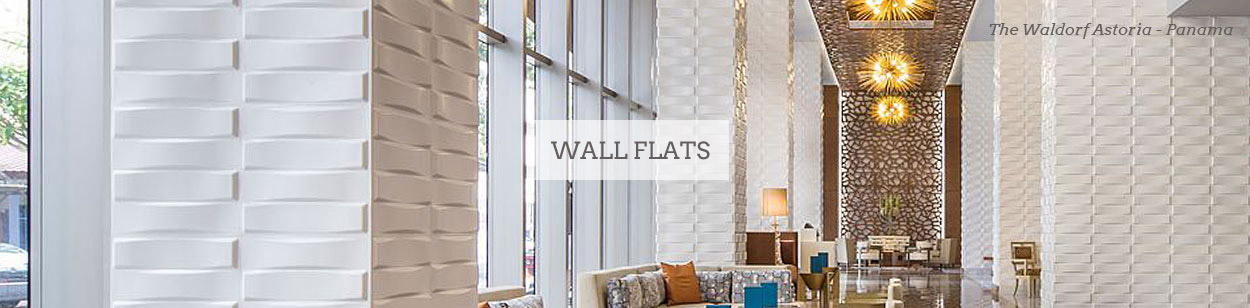 Wall Flats - 3D Wall Panels