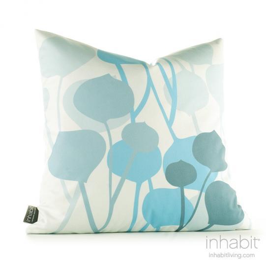 Seedling in Light Cornflower Pillow