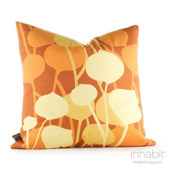 Seedling in Rust Pillow