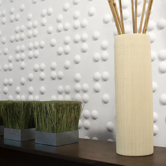Braille 3D Wall Flat wall panels