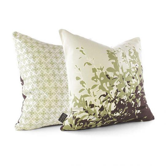 Foliage in Grass Pillow