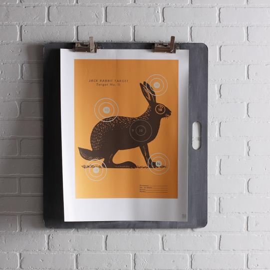 Jack Bullseye in Sunshine Print