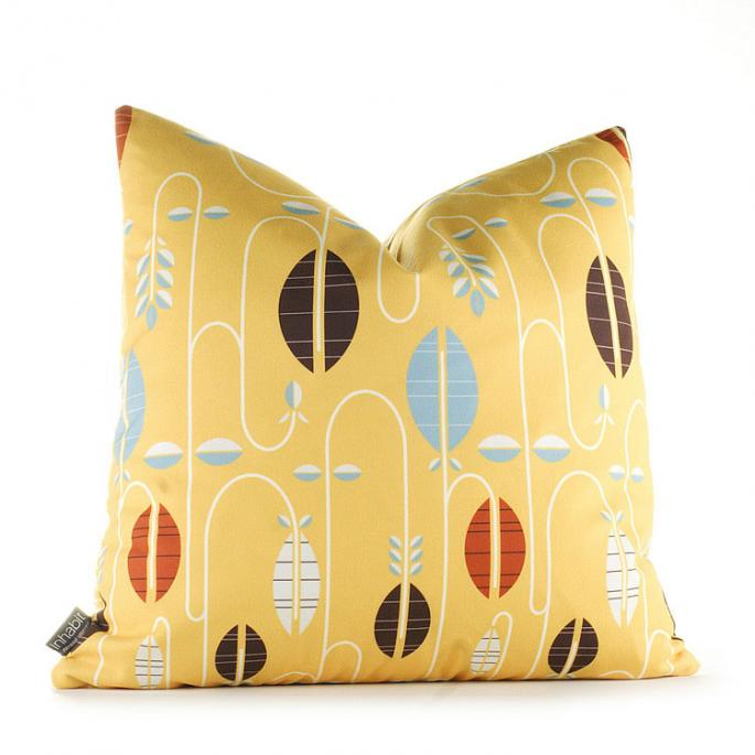 Carnival in Sunflower Pillow