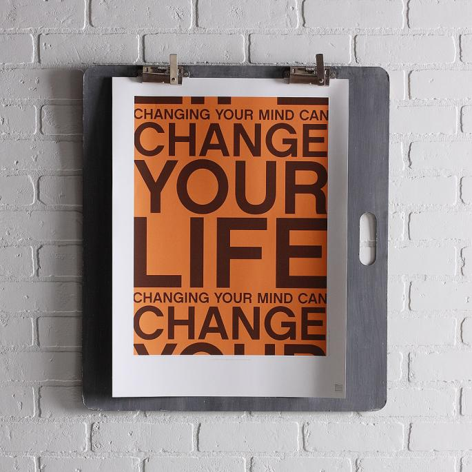 Change Your Life in Sunshine Print