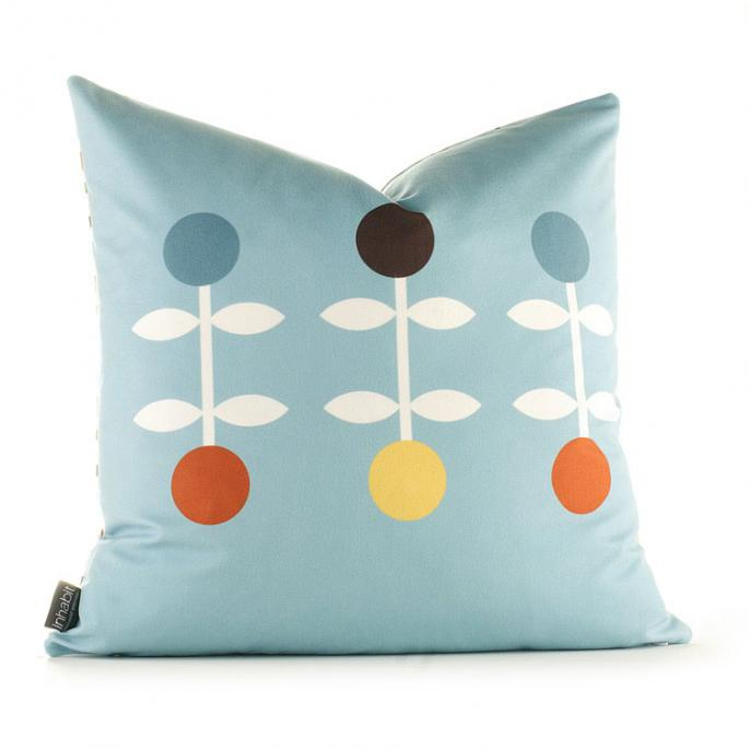 Giggle in Cornflower Pillow