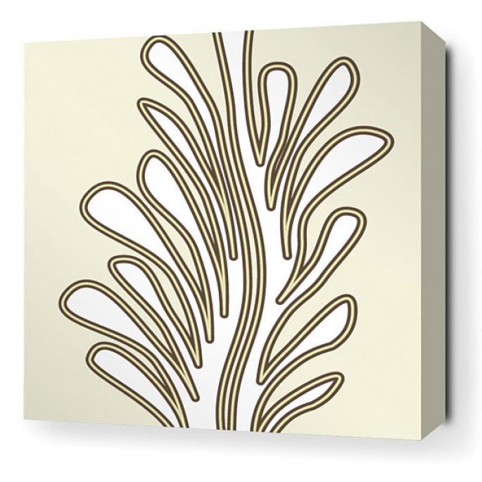 Seagrass in Moss Stretched Wall Art