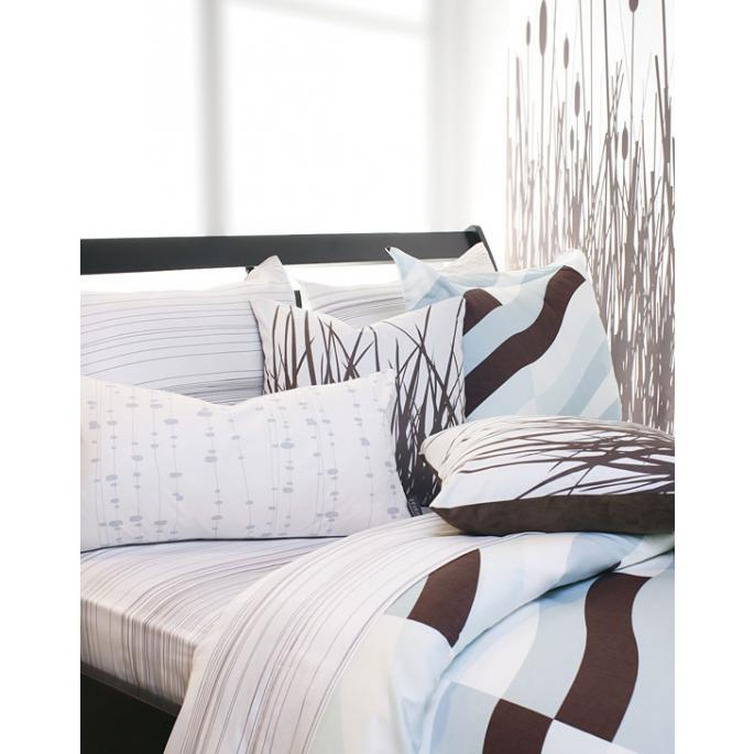 Soak in Winter Sky Duvet Cover and Shams