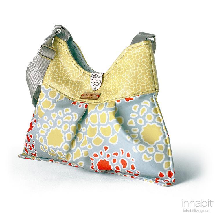 Kennedy Mum in Scarlet & Mustard Handbag