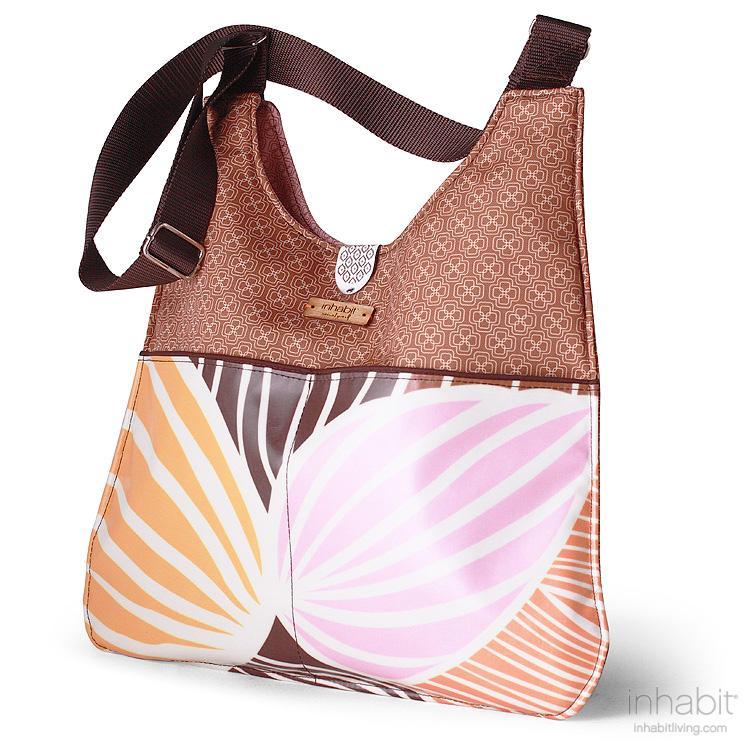 Nixon Leaf in Blush & Sunshine Handbag