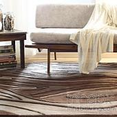 Madera in Chocolate Hand-Tufted Wool Rug