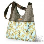Nixon Flowering Pyrus in Cornflower Handbag