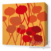 Seedling in Sunshine Stretched Wall Art