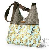 Nixon Flowering Pyrus in Cornflower Handbag